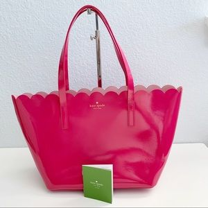 NWT, Kate Spade ♠️ Small Carrigan Patent Leather
